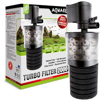 Aquael Turbofilter - отличный внутренний фильтр для аквариума!