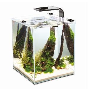 Маленький аквариум для креветок Aquael Shrimp Set Smart 20 черный 20 литров