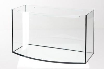 Аквариум Aquarica овальный 55 л, 4 мм