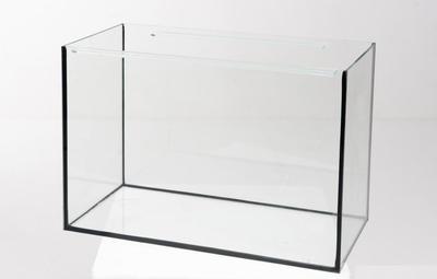 Аквариум Aquarica прямоугольный 54 л, 4 мм, днище - 5мм