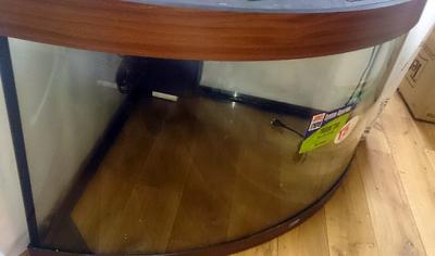 Аквариум Juwel Trigon 350 коричневый с витрины