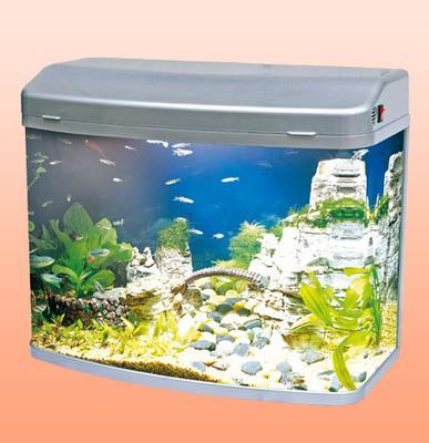 Аквариум Minjiang R3 580 серый