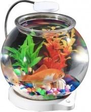 Круглый аквариум с освещением SunSun ATS-180