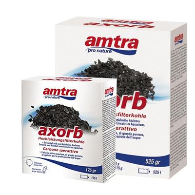 Amtra Axorb высокоочищенный активированный уголь для аквариумов, 525 г