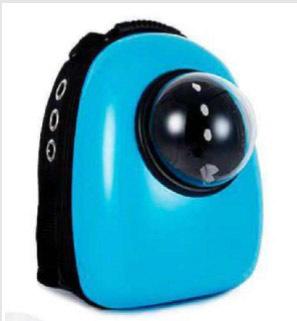 AnimAll SpacePet рюкзак-переноска 30х28х44см, голубая
