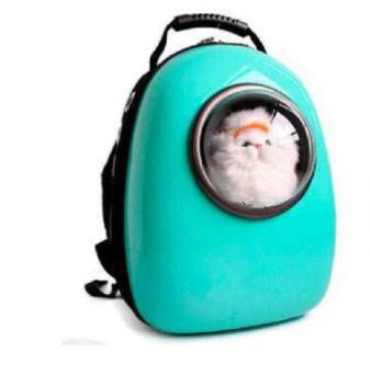 AnimAll SpacePet рюкзак-переноска 30х28х44см, мятная