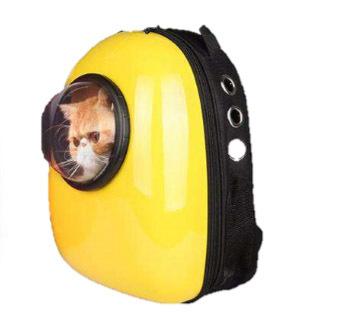 AnimAll SpacePet рюкзак-переноска 30х28х44см, желтая