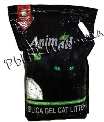 AnimAll Зеленый Изумруд - наполнитель силикагель, 10,5 л, 39868
