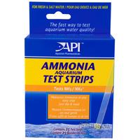 API Ammonia Aquarium Test Strips 25 шт. – тест на аммиак, A33D