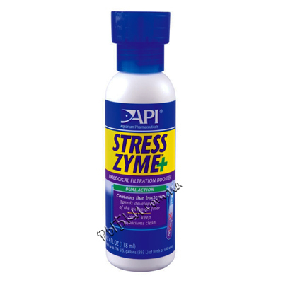 API Stress Zyme 237 мл – живая бактериальная культура, A56D
