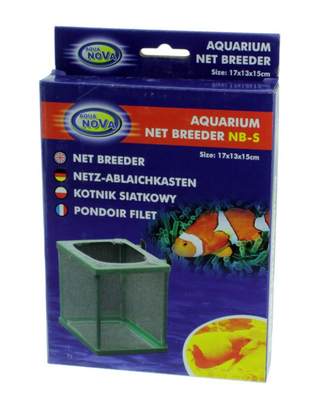 Остадник для рыб в аквариуме Aqua Nova NB-S 17х13х15см сетка