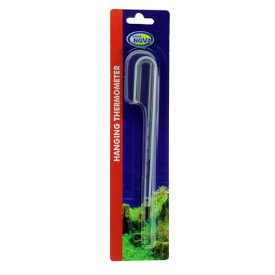 Навесной термометр для аквариума Aqua Nova T-HANG M до 10,2 мм длина 18 см