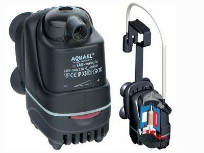 Aquael Fan Micro plus  - внутренний фильтр, 107621/3067
