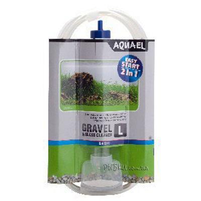 Aquael Gravel & Glass Cleaner L – сифон для очистки грунта, 222875
