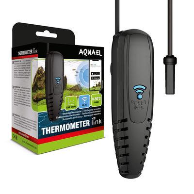 Электронный термометр для аквариума Aquael Thermometr link с Wi-Fi