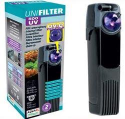 Aquael UniFilter 500 UV - внутренний фильтр, 107402/3280