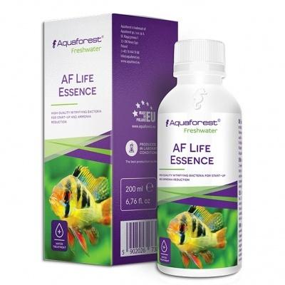 Aquaforest AF Life Essence препарат для снижения нитратов в аквариуме, биостартер, 200 мл на 2000 л