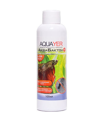 Aquayer АкваБактол препарат антибактериального  действия, 100 мл