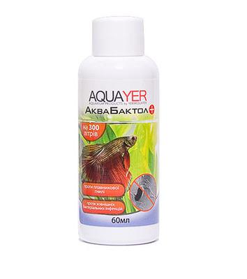Aquayer АкваБактол – препарат антибактериального  действия, 60 мл