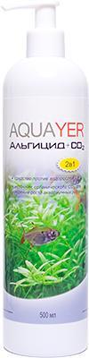 Aquayer Альгицид+СО2 препарат против водорослей в аквариуме, 500 мл
