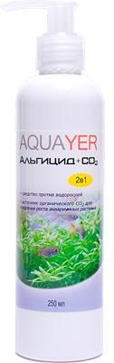 Aquayer Альгицид+СО2 препарат для борьбы с водорослями в аквариуме, 250 мл