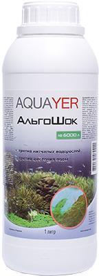 Aquayer АльгоШок, 1000 мл – для борьбы с водорослями