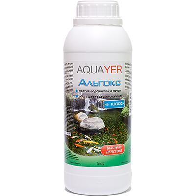 Aquayer Альгокс, 1000 мл - для борьбы с водорослями в пруду