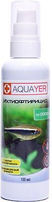 Aquayer Ихтиофтирицид  - для борьбы с ихтиофтириусом, 100 мл