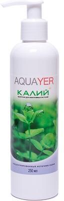 Aquayer Калий 250 мл удобрение для аквариумных растений
