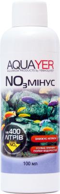 Aquayer NO3 Минус средство для понижения уровня нитратов в аквариумной воде, 100 мл на 400 л