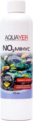 Aquayer NO3 Минус средство для понижения уровня нитратов в аквариумной воде, 250 мл на 1000 л