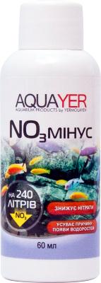 Aquayer NO3 Минус средство для понижения уровня нитратов в аквариумной воде, 60 мл на 240 л