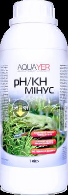 Aquayer pH/KH минус средство для снижения КН и рН воды в аквариуме, 1 л