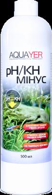 Aquayer pH/KH минус средство для снижения КН и рН воды в аквариуме, 500 мл