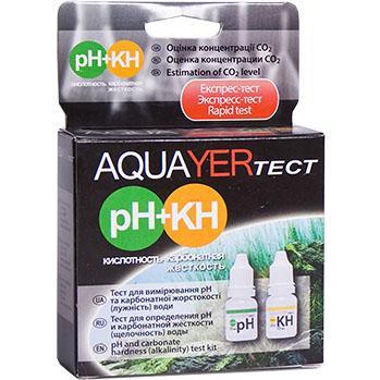 Aquayer pH+KH набор на кислотность и карбонатную жесткость воды