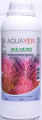Aquayer Железо+ удобрение для аквариумных растений, 1 л до 70 тыс.л