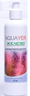 Aquayer Железо+ удобрение для аквариумных растений, 250 мл до 17500 л