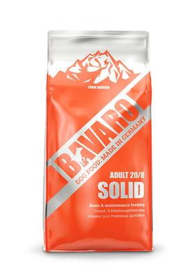 Bavaro Solid Adult 20\8 сухой корм для взрослых рабочих собак, 1 кг (развес)