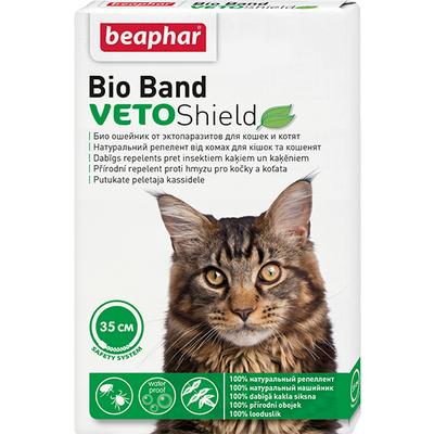 Beaphar Bio Band - ошейник от блох и клещей для котов, 35 см