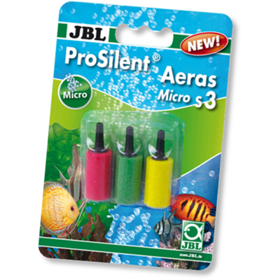 JBL ProSilent Aeras Micro S3 набор из трех цветных распылителей, 14х25 мм