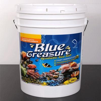 Blue Treasure Reef Sea Salt - рифовая соль для L.P.S. кораллов 20 кг, 46207