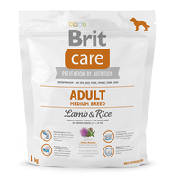 Brit Care Adult Medium Breed Lamb & Rice 1 kg (д_собак весом от 10 до 25 кг), 132711 _9942