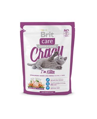 Brit Care Cat Crazy I m Kitten - корм для котят до 12 мес, 0,4 кг