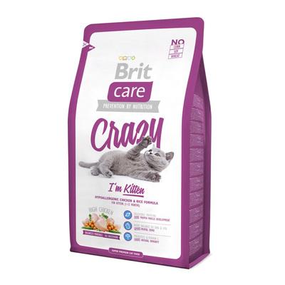 Brit Care Cat Crazy I m Kitten - корм для котят до 12 мес, 100 г (развес)
