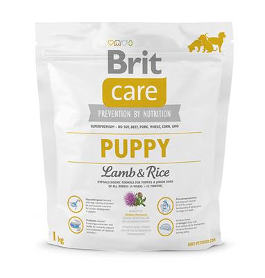 Brit Care Puppy Lamb and Rice гипоаллергенный корм для щенков, 1 кг