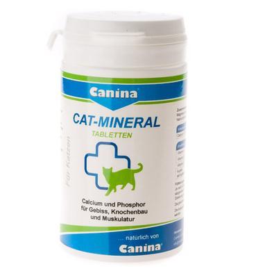 Canina Cat-Mineral Tabs - минеральный комплекс для кошек, 150 таб, 220922 AD