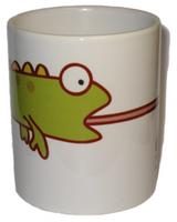 Чашка сувенирная, Хамелеон