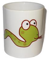 Чашка сувенирная, Змея