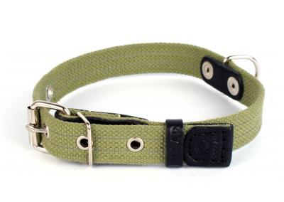 Collar №0240 - ошейник брезентовый 41-53см/25мм