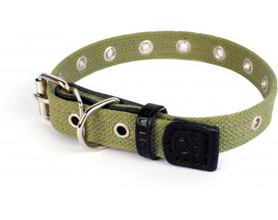 Collar №6754 - ошейник безразмерный брезентовый 41см/20мм